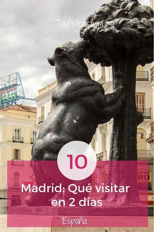 que ver en Madrid en 2 dias.