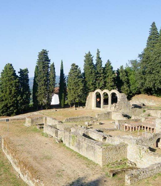 Fiesole Florencia Italia