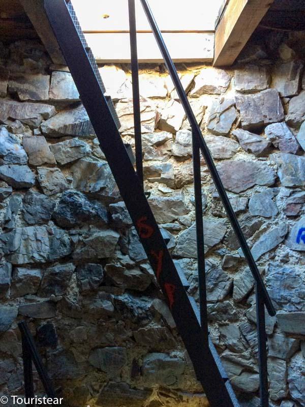 Dentro de la Atalaya del Berrueco