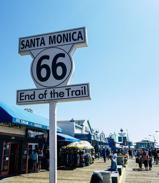 Los Angeles, Route 66, United States