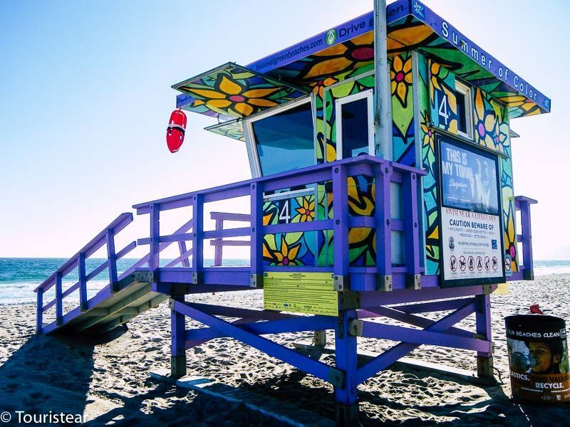 Playa de Santa Mónica, Los Angeles Ruta 66