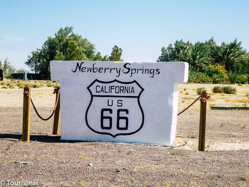 Route 66 Los Angeles to Amboy