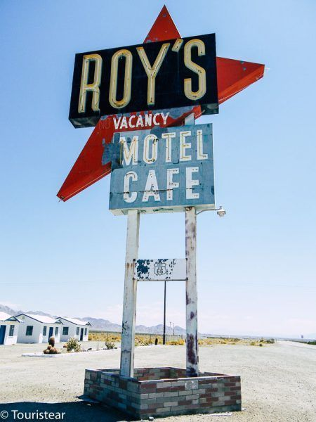US route 66 Roy's cafe