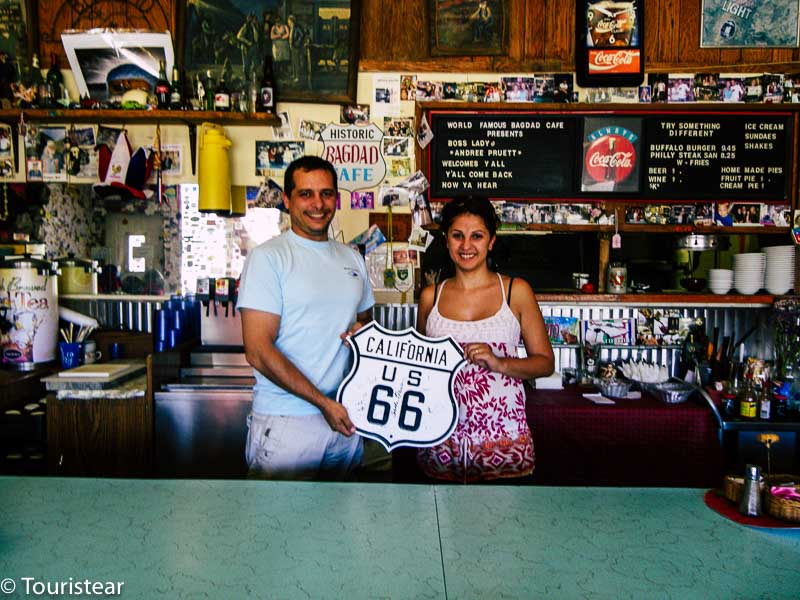 Bagdad cafe Route 66 Los Angeles to Amboy 8