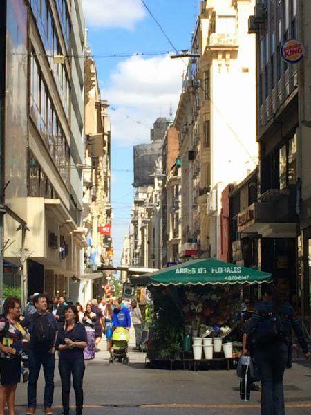 Calle Florida de Buenos Aires