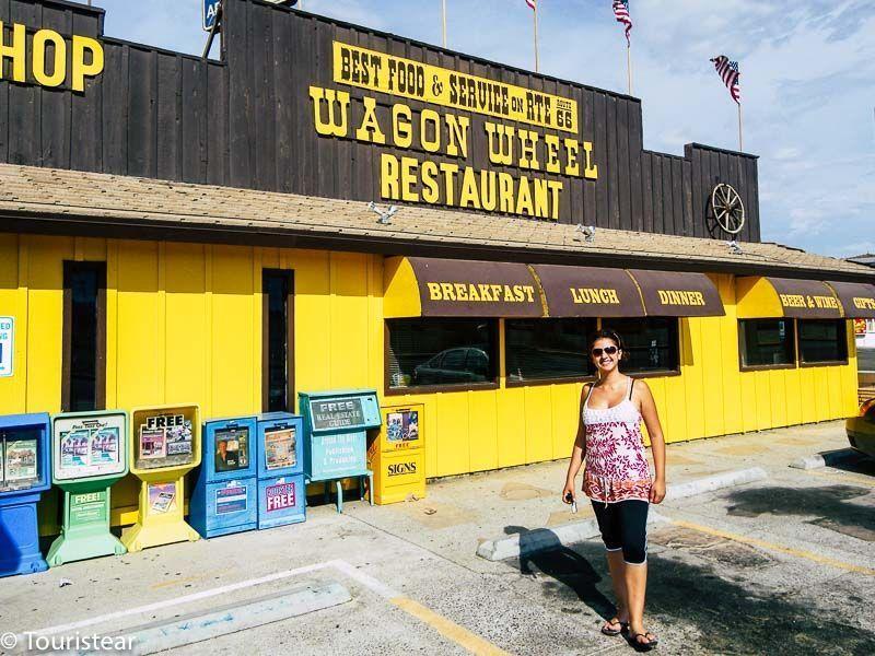 Wagon Wheel, Route 66, road trip USA