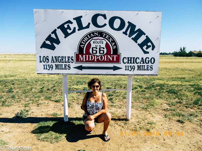 Route 66, day-to-day itinerary