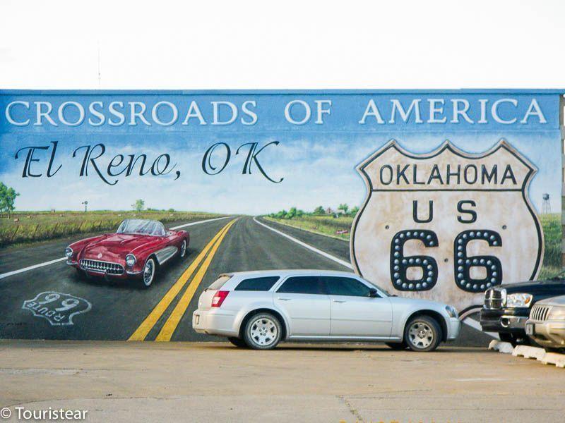 Ruta 66, El reno, oklahoma