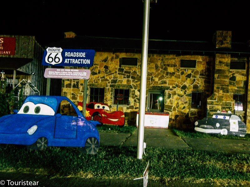 Ruta 66. Tramo de Clinton a Bristow