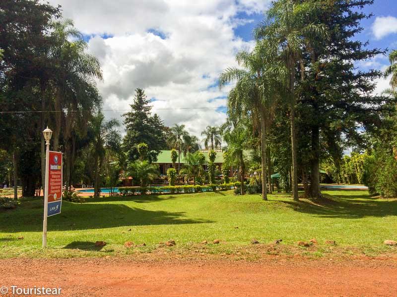 cataratas del iguazu, argentina, entrada hostel