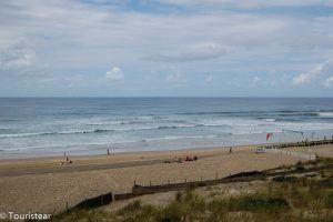 Lacanau Ocean, Surf al sur de Francia