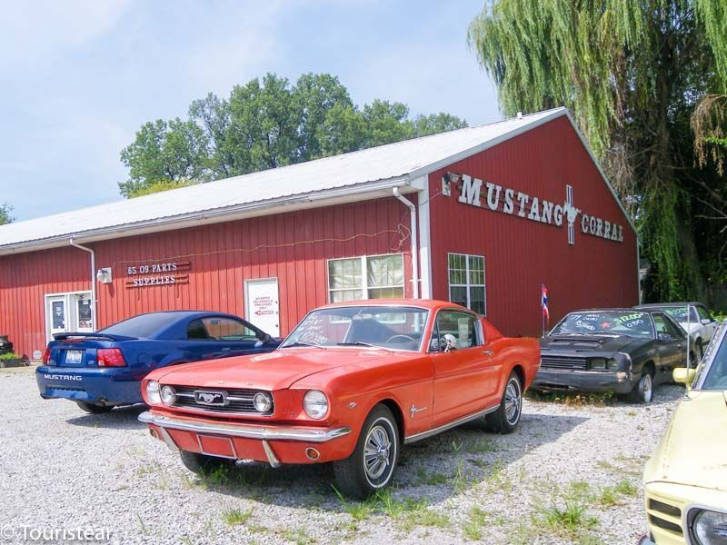 Route 66, Mustang corral