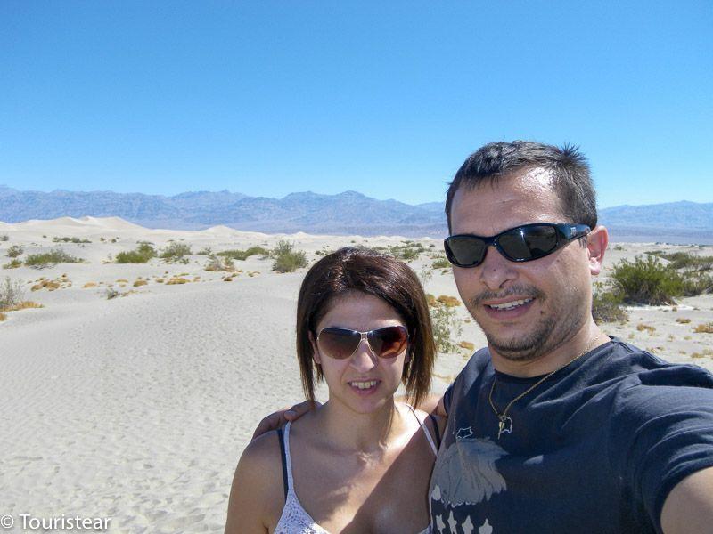 Death Valley, mesquite flat, valle de la muerte