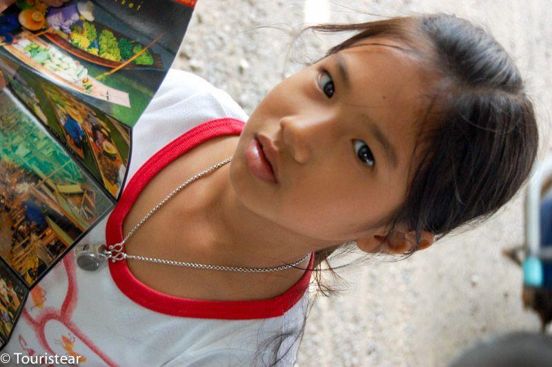 Tailandia, mercado flotante, trucos de fotografia