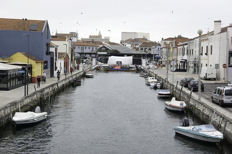 aveiro, barrio de pescadores y mercado