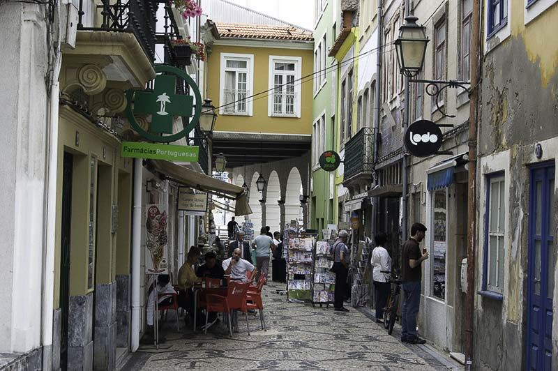 aveiro, barrio historico