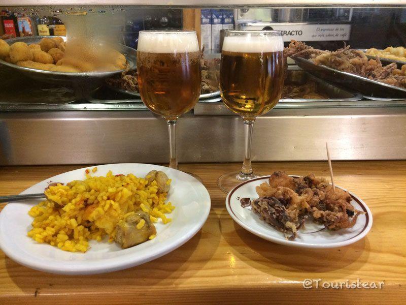 La codorniz, tapas por Segovia