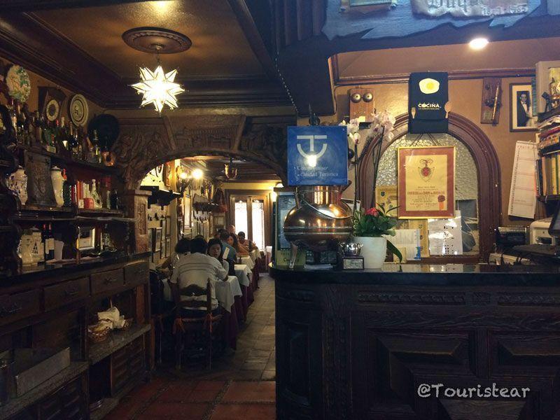 Las cuevas del Duque, tapas por Segovia