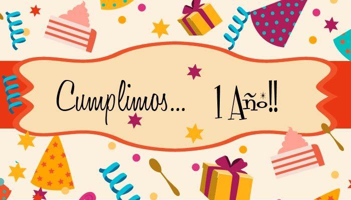 Sorteo Aniversario. ¡¡Cumplimos nuestro primer año!!