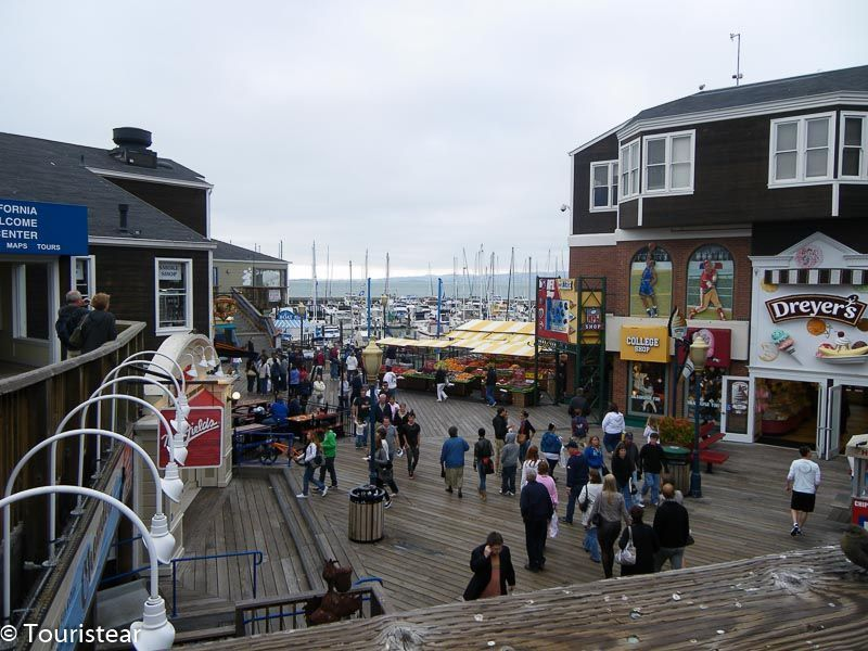 Fishermans Wharf. San Francisco