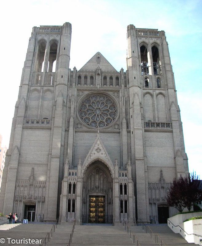 Grace Cathedral. San Francisco