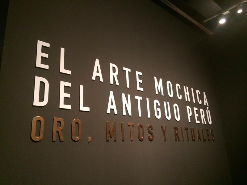 arte mochica, caixa forum, madrid