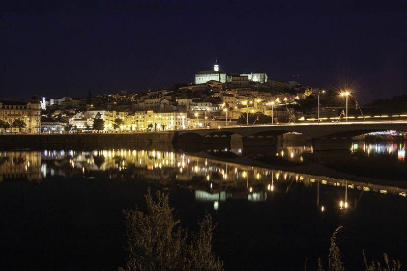 Coimbra de Noche Portugal