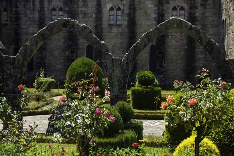 Jardin de Santa Barbara Barcelos Portugal