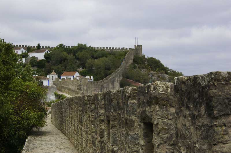 Muralla de Obidos Portugal
