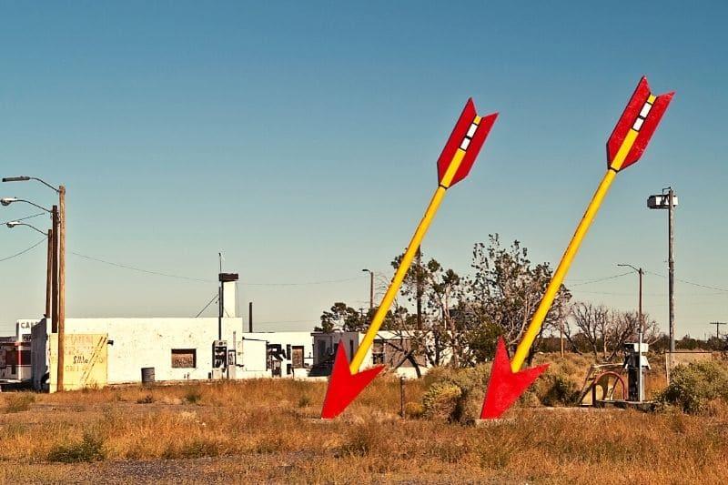 twin arrows route 66