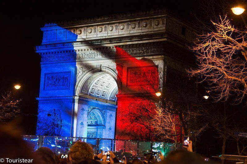 Paris Arco del Triunfo, París