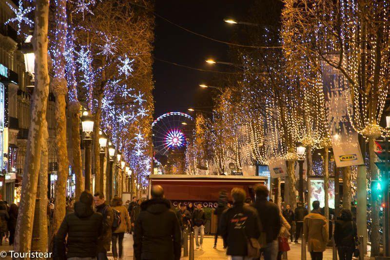 Paris Campos Eliseos - nochevieja