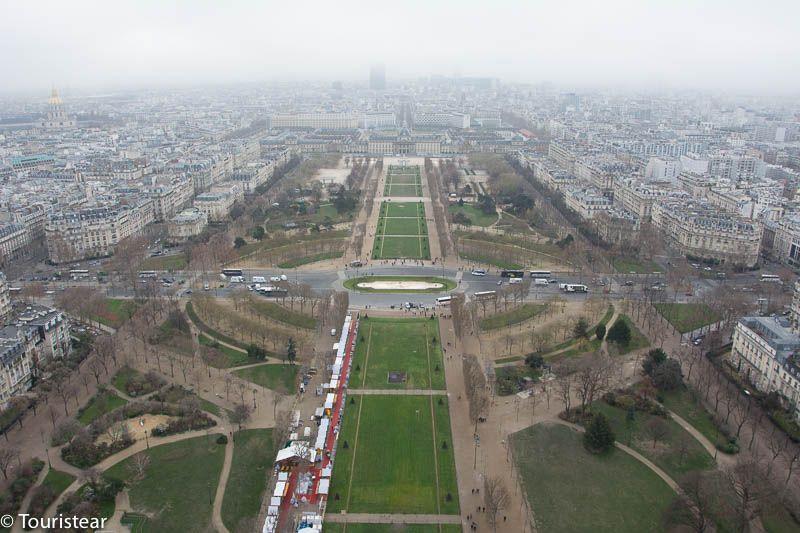 Paris Vista Torre Eiffel, París