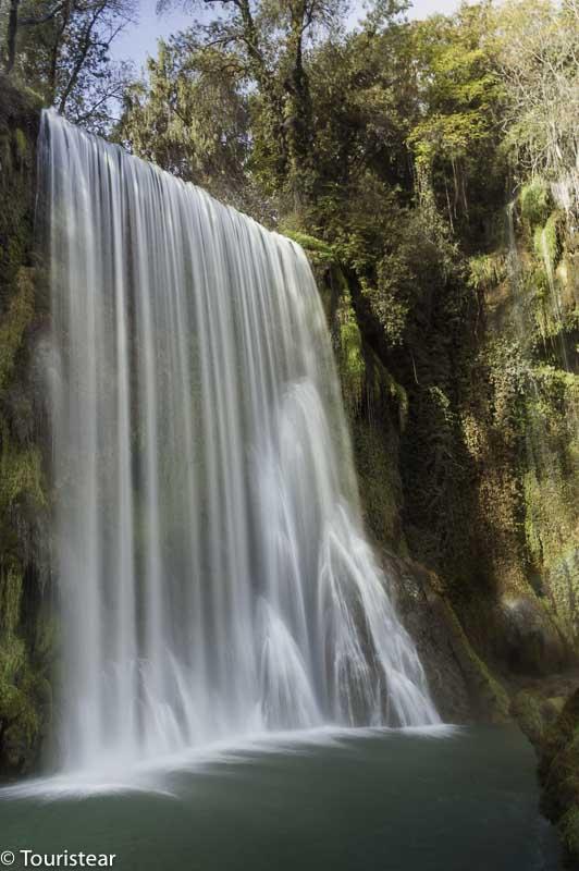 monasterio de Piedra, cascada Caprichosa