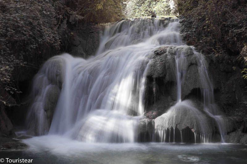monasterio de Piedra primera cascada