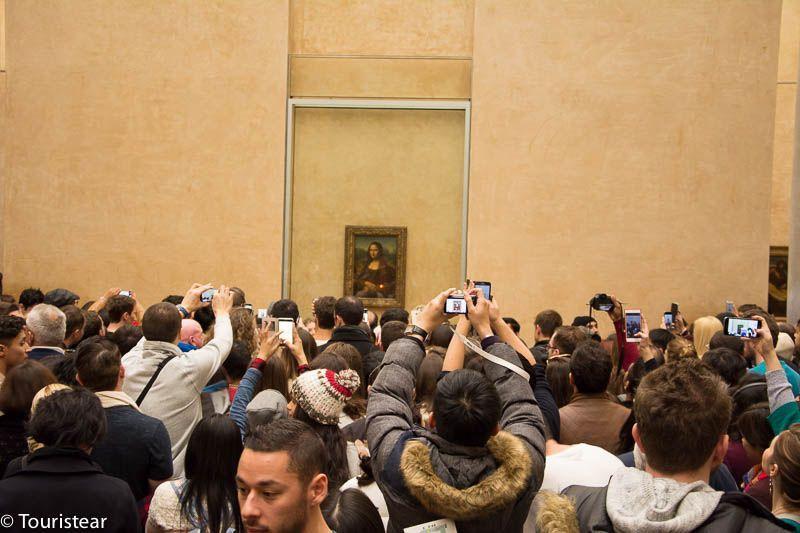 que ver en Paris, Louvre Monalisa