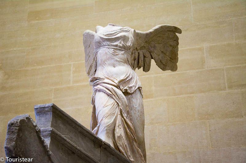 que visitar Paris, Louvre, Victoria Samotracia