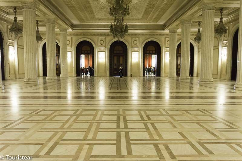 Parlamento Casa del Pueblo Bucarest Interior