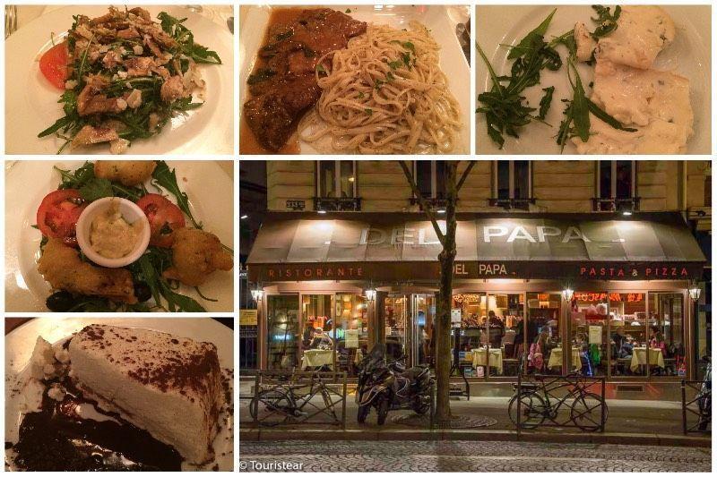 Del papa, restaurantes de Paris