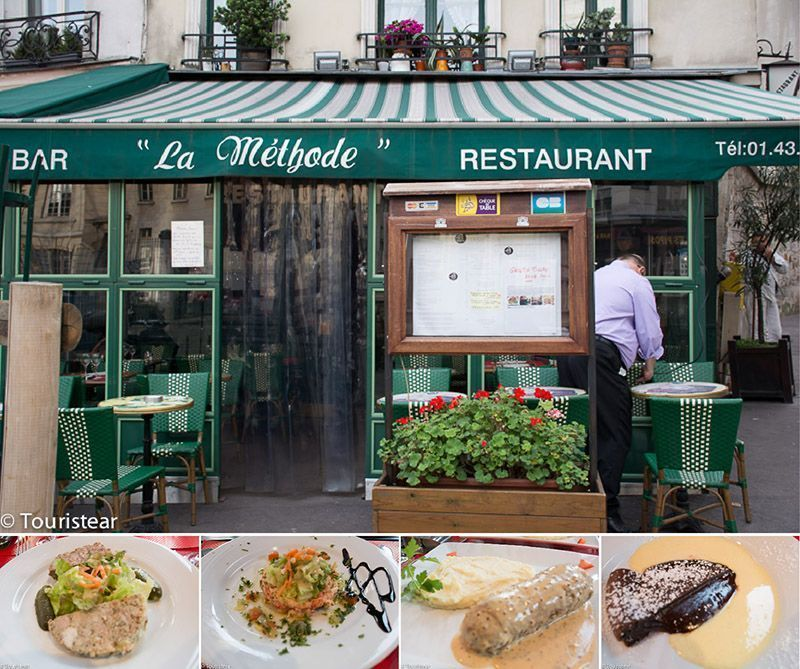 La Methode Restaurante Paris