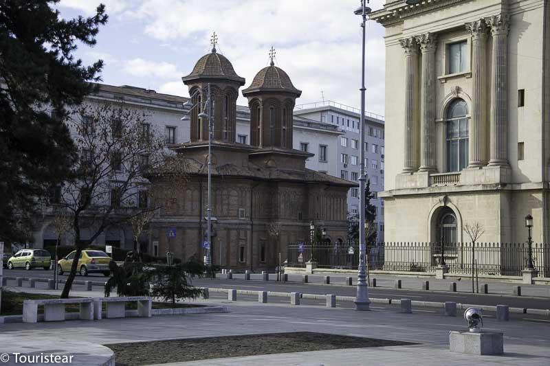 Bucarest Iglesia Kretzulescu