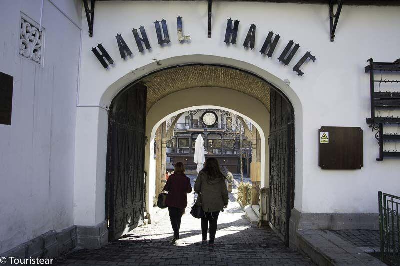 Hanul Hanuc Bucarest, que ver en bucarest, rumania