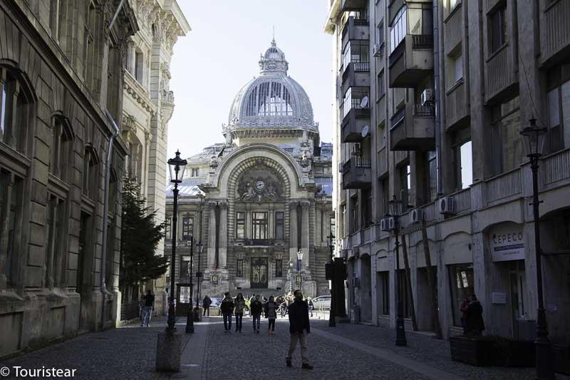 Palacio CEC Bucarest