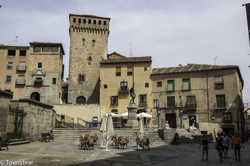Plaza San Martin Segovia