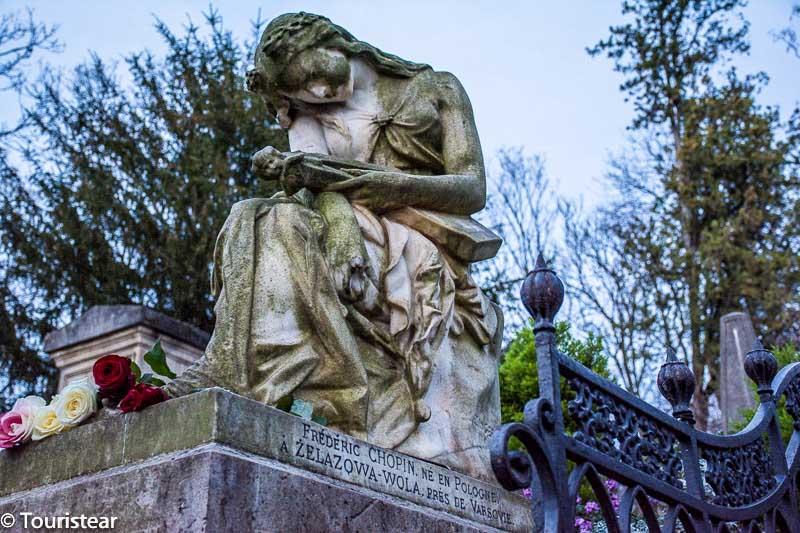 chopin, pere lachaise, cementerio, paris