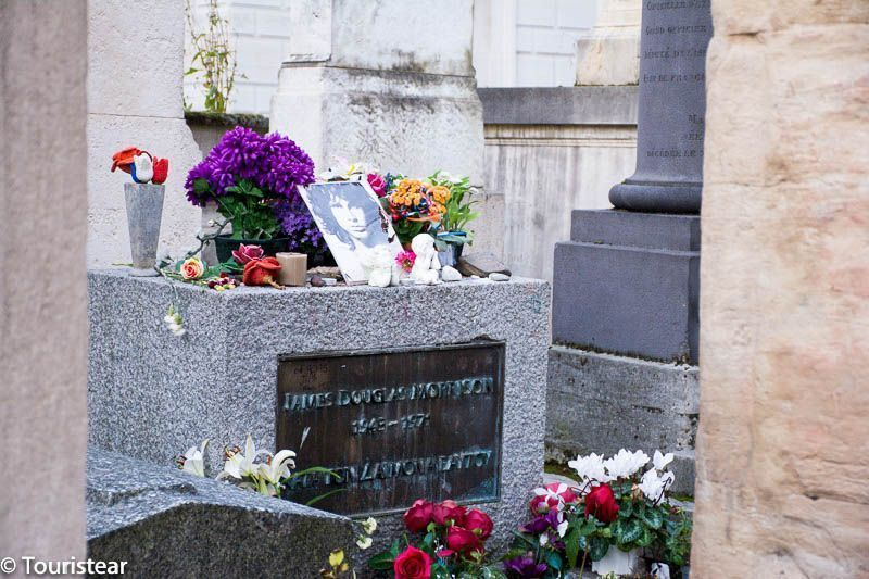 Pere lachaise, cementerio, Jim Morrison, Paris