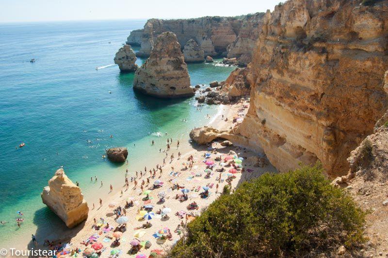 Playas del algarve portugal, Marinha