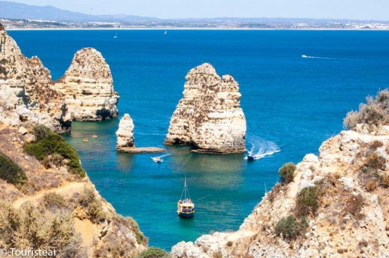 The 10 best beaches in the Algarve. Portugal