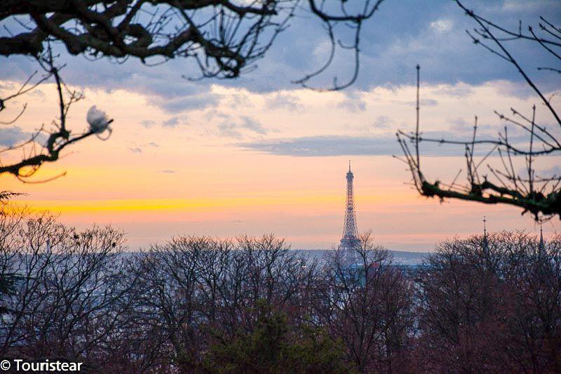 Pere lachaise, atardecer, Paris