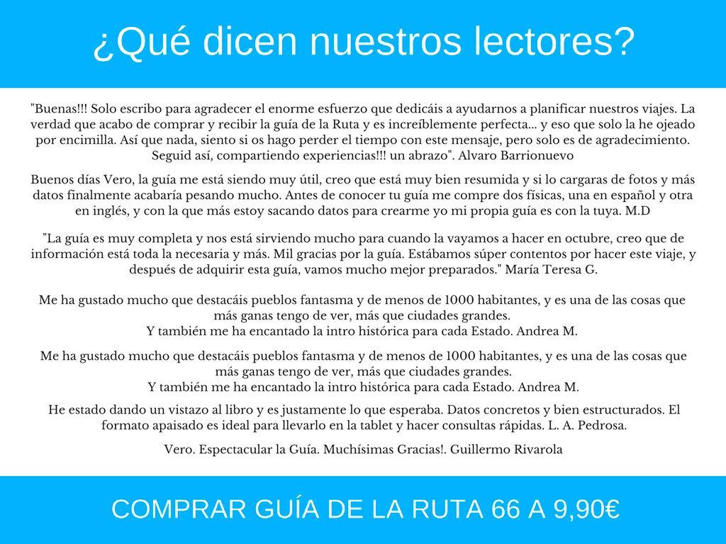 GUIA DE LA RUTA 66, TOURISTEAR, RUTA66